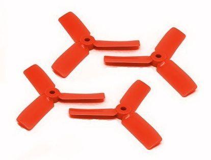 Dal Props Bullnose 3.5X4.5X3 Pomarańczowe (2Cw+2Ccw)
