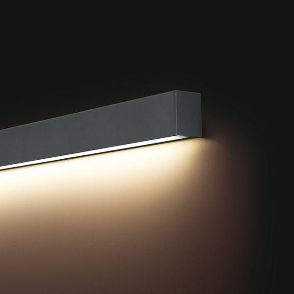Wspaniały Lampa kinkiet LED STRAIGHT WALL GRAPHITE S 9618 Nowodvorski • Arena.pl OB83