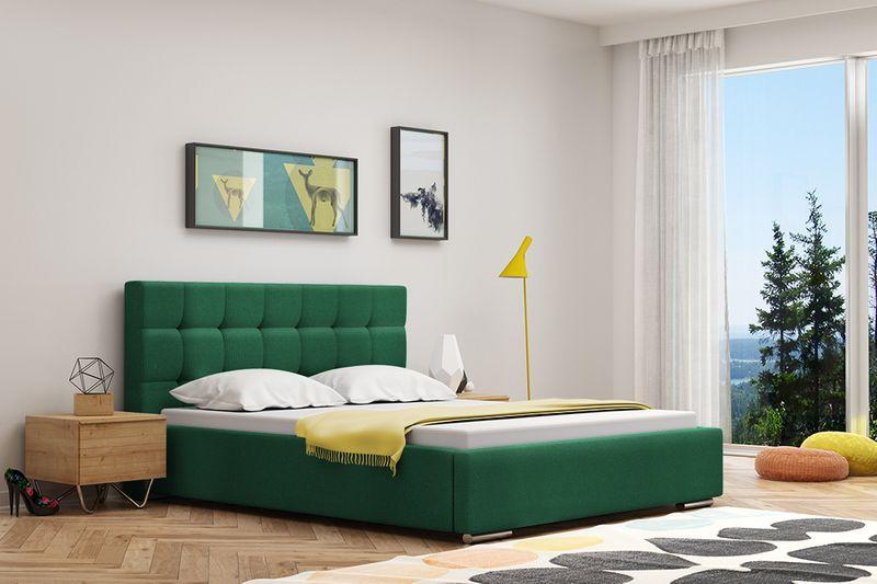 Łóżko tapicerowane 160X200 Diana zdjęcie 2