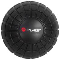 Pure2Improve Piłka Do Masażu 12,8 Cm, Czarna