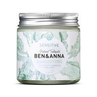 Ben&anna Natural Toothpaste Naturalna Pasta Do Wrażliwych Zębów Z Rokietnikiem Rumiankiem I Aloesem Sensitive 100Ml