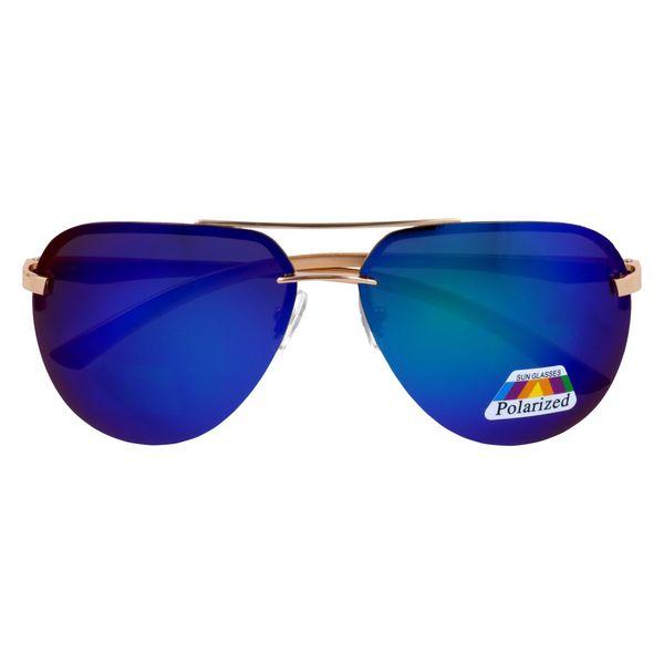 Damskie okulary lozano pilotki polaryzacyjne blue • Arena.pl