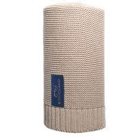 Kocyk bambusowo-bawełniany PARIS 80x100 BEŻ,