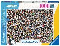 Ravensburger Puzzle Challange Myszka Miki i przyjaciele 1000 el.