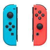Gamepad Bezprzewodowy/ OR: Bezprzewodowa Kontrolka do Gier Nintendo Joy-Con Niebieski Czerwony