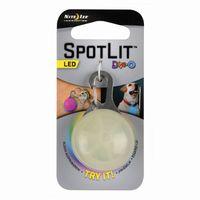 Nite Ize Brelok, zawieszka SpotLit Eko opk. plastik/multikolor LED