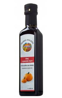 INDIA Olej z pestek dyni tłoczony na zimno 250 ml