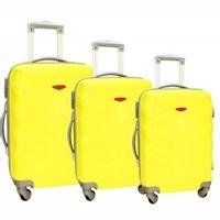 Zestaw 3 walizek PELLUCCI RGL 81 Żółte