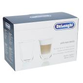 Szklanki TERMICZNE latte macchiato DeLonghi 2x220