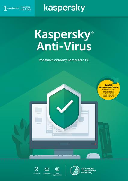 Kaspersky Anti-Virus 1 komputer / 2 lata na Arena.pl