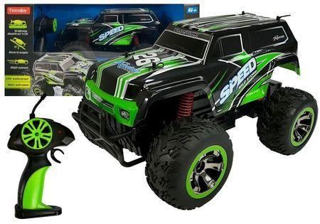Terenowy Jeep Auto 1:18 R/c Zielone