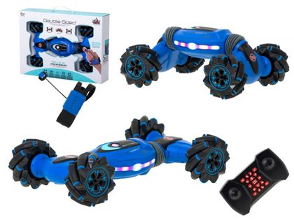 Samochód Rc Stunts Dancing Stunt 360 Niebieski