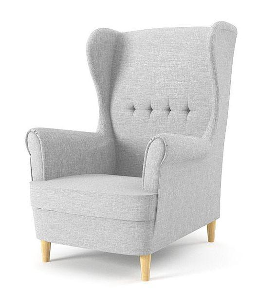 Fotel USZAK MILO styl skandynawski PRODUCENT zdjęcie 2