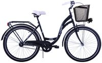 (K14) Rower miejski damski Kozbike 26 czarny
