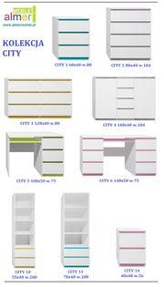 biurko CITY C5 100x50 w.75