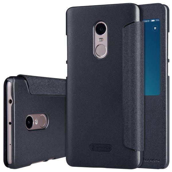 Nillkin CASE Z KLAPKĄ Xiaomi Redmi Note 4 BLACK zdjęcie 1