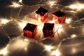 Lampki świąteczne JoyLight 20 LED białe ciepłe na baterie