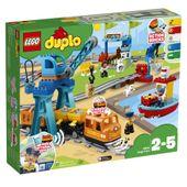 KLOCKI LEGO DUPLO TOWN POCIĄG TOWAROWY 10875