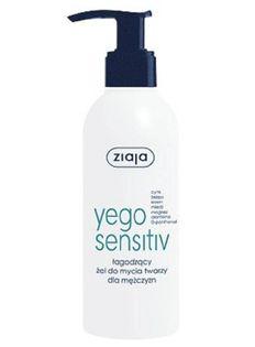 Yego Sensitiv łagodzący żel do mycia twarzy dla mężczyzn 200ml