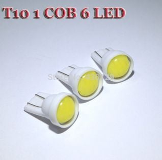 Żarówka LED T10 W5W COB LED 6 SMD ZIMNA