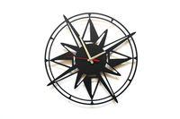 Zegar na ścianę Kompas, dekoracja, ozdoba, stylowy pomysł na prezent