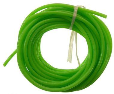 Silikonowy Przewód Paliwowy 2.5Mm / 5.3Mm 1M (Paliwo Żarowe) - Zielony
