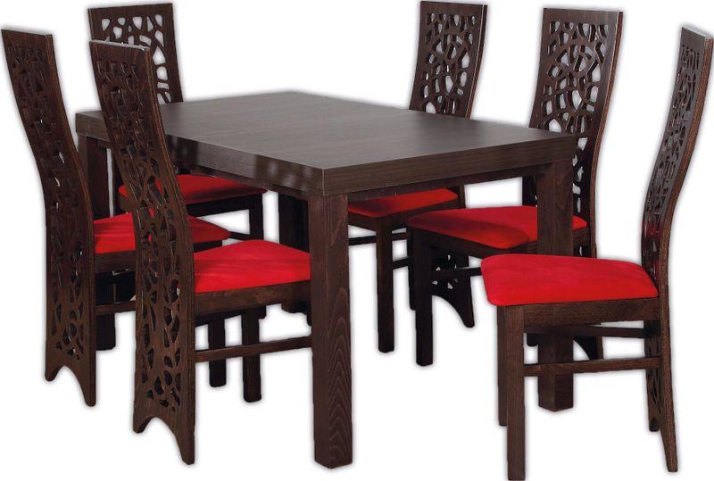Stół 14080 Rozkładany I 6 Krzeseł Polecam Arenapl