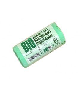Worki na odpady organiczne i zmieszane, biodegradowalne i kompostowalne 8L 25 szt. BioBag