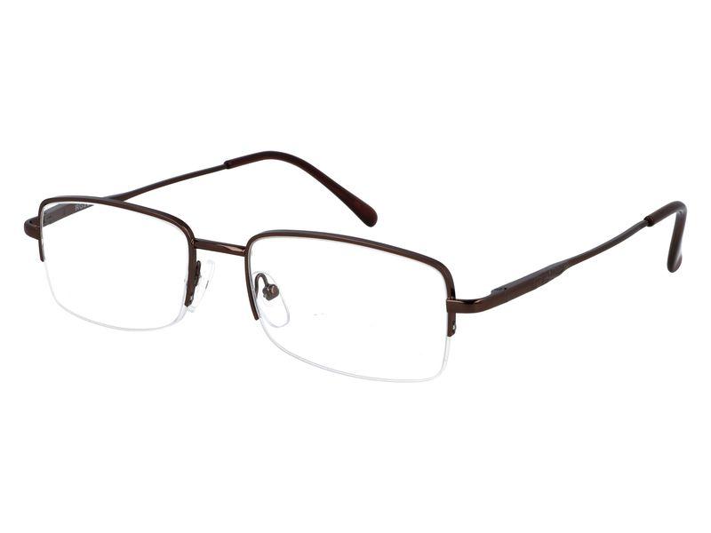 Prostokątne okulary do czytania plusy +1.00 zdjęcie 2