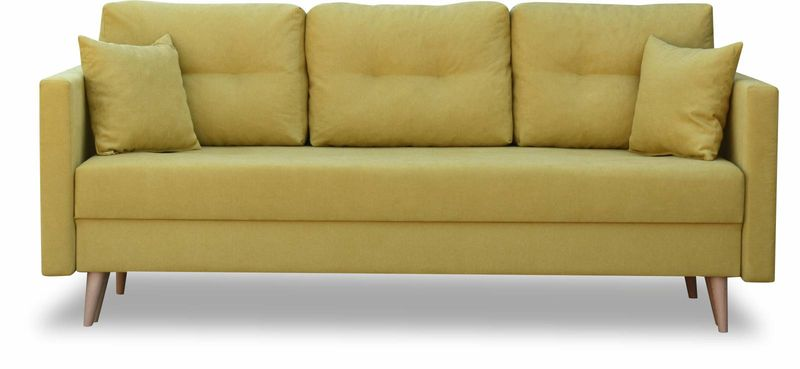 Kanapa rozkładana z funkcją spania na sprężynach, zmywalna sofa Lahti zdjęcie 8