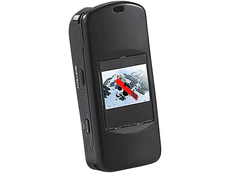 Wodoodporna kamera 5w1 z zestawem akcesoriów Somikon DV-65.mini zdjęcie 1
