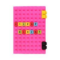 Notes A5/100 kratka silikonowy c/różowy Unipap