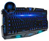 Podświetlana Klawiatura gamingowa dla graczy LED M166 zdjęcie 14