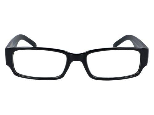Czarne okulary zastępcze do czytania plusy +3.50 na Arena.pl