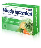 Rodzina Zdrowia Młody Jęczmień, 60 tabletek - Długi termin ważności!