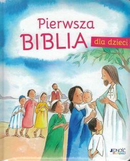 Pierwsza Biblia dla dzieci - Sally Ann Wright - oprawa twarda