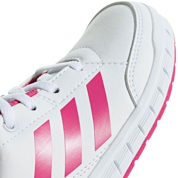 Buty dla dziewczynki adidas AltaSport K biało różowe D96870 35
