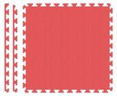 PUZZLE PIANKOWE MATA 4szt 62x62x1,1 cm Czerwony