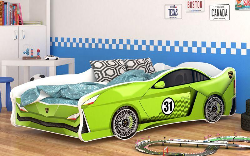 Łóżko auto CARS THUNDER 160x80 na Arena.pl