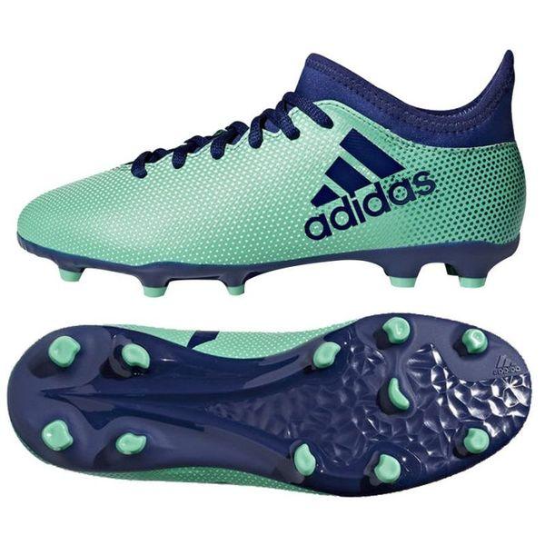 7c8bbe8bb Buty piłkarskie adidas X 17.3 FG Jr CP r.38 2/3 « Korki - Arena.pl ...
