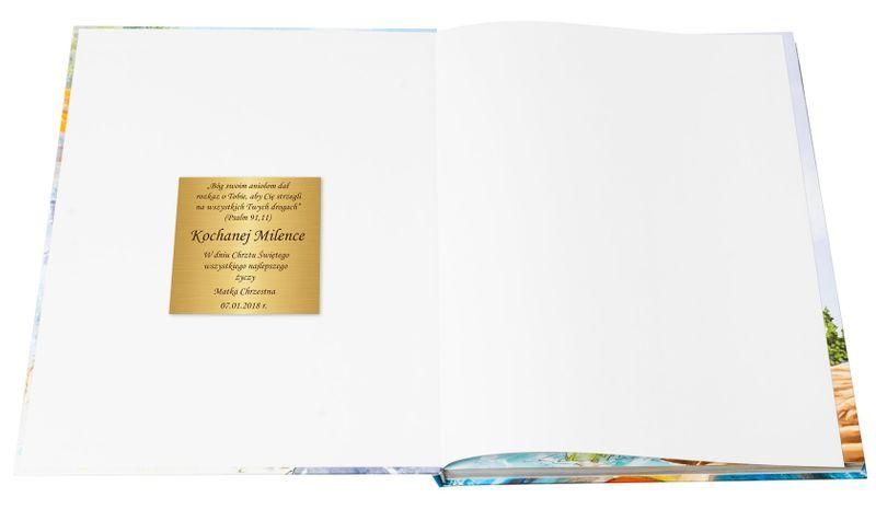 ILUSTROWANA BIBLIA DLA DZIECI z grawerem PREZENT NA CHRZEST KOMUNIĘ zdjęcie 3