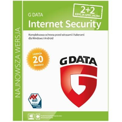 G Data Internet Security 2+2 / 20mc na Arena.pl