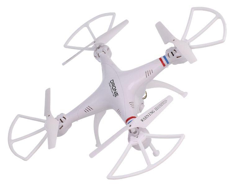 Dron TD08 II Generacji z Kamerą WiFi Podgląd na żywo 2x AKU Biały Z312 zdjęcie 3