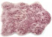 Dywanik Włochacz Gęsty Jak Futro Calgary Różowy 60x90 cm