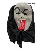 Maska świecąca z językiem, przebrania dla dzieci,
