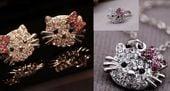 Zestaw biżuterii dziecięcej fanki Hello Kitty zdjęcie 2
