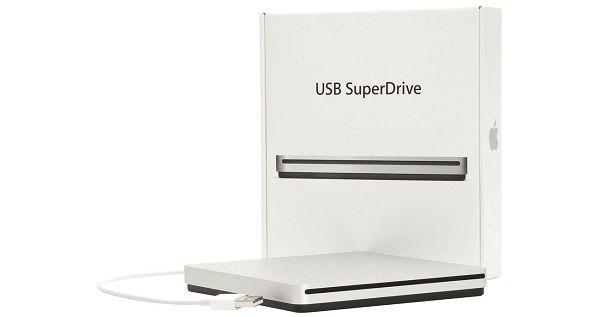 Napęd optyczny Apple SuperDrive USB MD564ZM/A zdjęcie 5