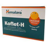 Himalaya Koflet-H Tabletki Do Ssania Pomarańcza12S