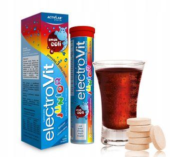ElectroVit Junior elektrolity dla dzieci o smaku coli 20 sztuk