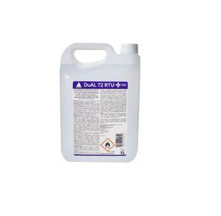 DuAL72RTU Płyn do dezynfekcji rąk i powierzchni 5l